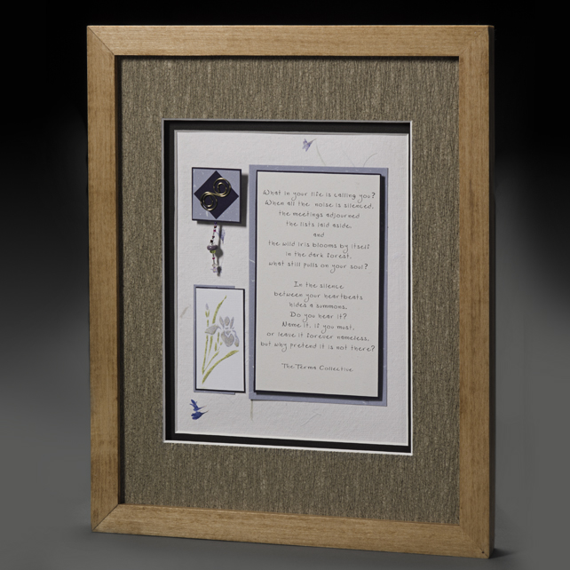 Handcrafted 3D Framed Quotation