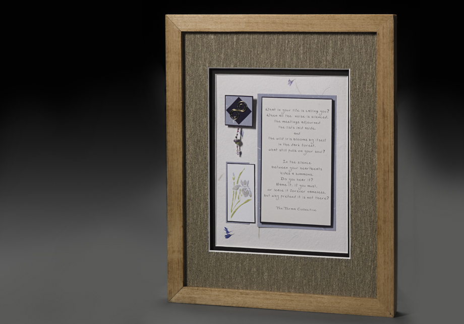 3D Framed Quotation
