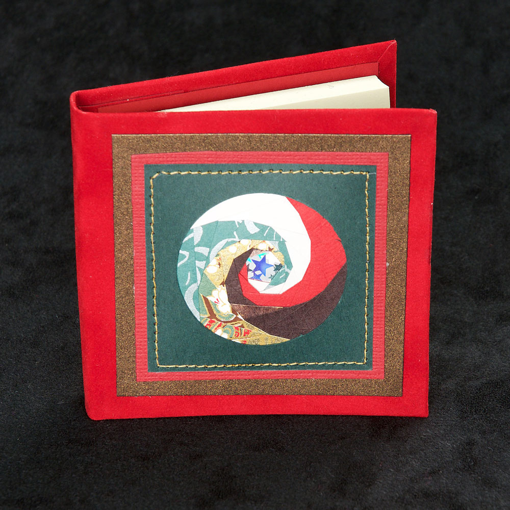 Handcrafted Post It Books - Circle